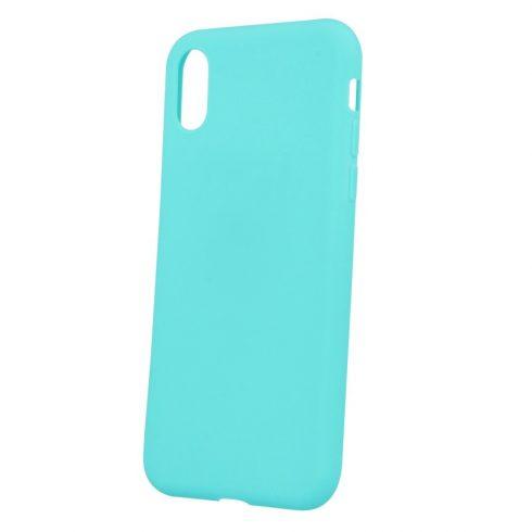 Capac protectie Matt TPU pentru Apple iPhone XR, silicon moale, turcoaz